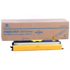Konica  Minolta 1600W Orjinal Sarı Toner (A0V305H) (1.500 Sayfa)