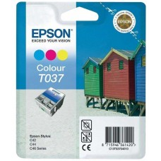 Epson T037 Siyah Color Kartuş (T03704020)