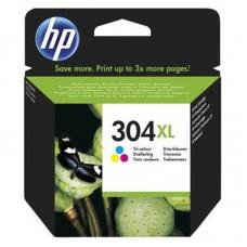 HP (304XL) Orjinal C-M-Y-Mürekkep Kartuş (N9K07AE)