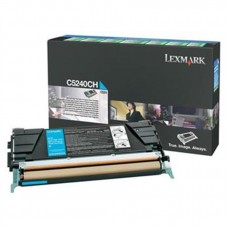 Lexmark C5240CH Orjinal Mavi Toner (5k)