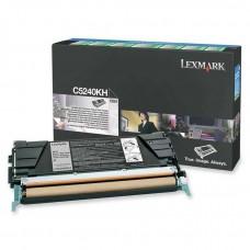 Lexmark C5240KH Orjinal Siyah Toner (8k)