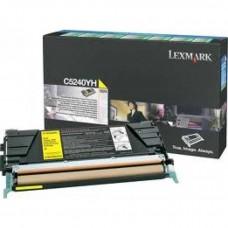 Lexmark C5240YH Orjinal Sarı Toner (5k)