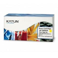 33955-HP Q6002A Sarı Toner 1600 2600 2605 CM1015 CM1017 MFP Canon LBP5000 5100