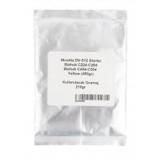 Konica Minolta C451 Orjinal Sarı Developer (450 gr) (T34)
